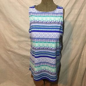 Lands' End Tankini Top Like New